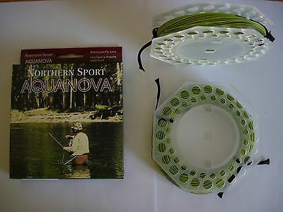NORTHERN SPORT AQUANOVA ATF90 FLOATING Fly Fishing Line VARIOUS WEIGHTS (AVOCADO