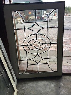 Sg 473 Antique All Beveled Glass Transom Window