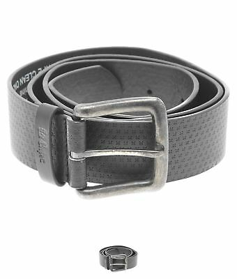 MODA Lee Cooper Pattern Belt Mens Black