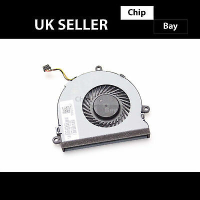 Genuine Hp 15-Ac Series Cpu Cooling Fan 813946-001 Dc28000Gaf0Fcc2 Dfs561405Fl0T