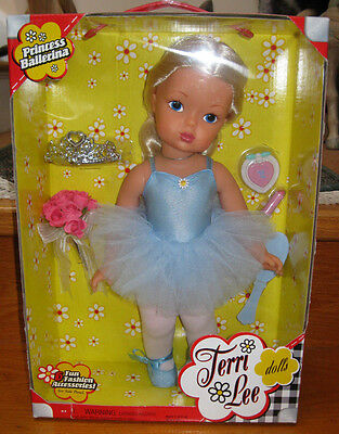 "2004 New~*terri Lee*~16""~Vhtf~Princess Ballerina~Blonde Hair~Bouquet~Cutest Doll"