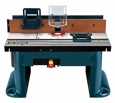 Bosch RA1181 Benchtop Router Table Aluminum fence with MDF face by Bosch HVI
