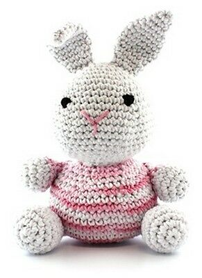 Hoooked DIY Crochet Kit Bunny Eco Barbante