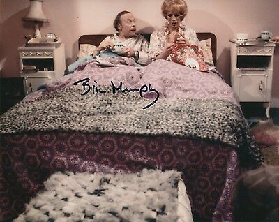 Brian Murphy signed George & Mildred TV Comedy photo - UACC DEALER