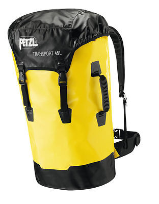 PETZL TRANSPORT 45 L -Rugged and comfortable large capacity pack for caving