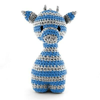Hoooked DIY Maxigurumi Crochet Kit Giraffe 30cm Tall 2 Yarns,Pattern,Hook