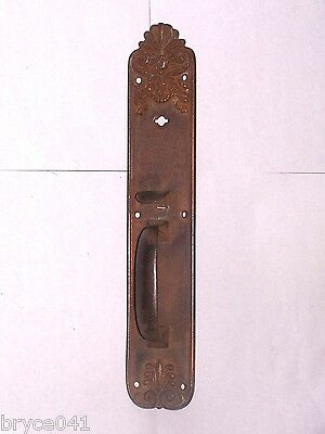 Antique Sargent & Co. Thumb Latch Door Plate Handles Stamped BB7503