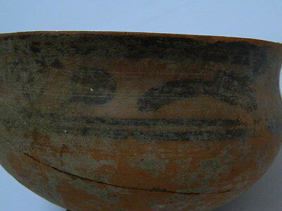 Ancient Large Size Teracotta Painted Pot Indus Valley 2500 BC #PT5064