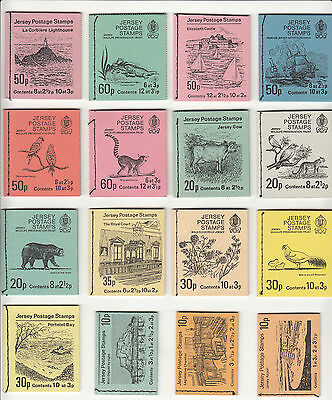 Jersey stamp booklets multi listing your choice.