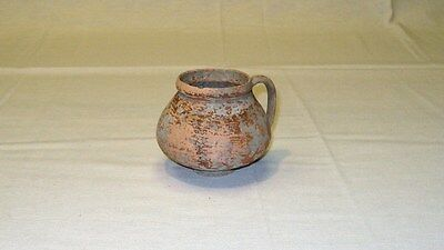 "Antique Roman Pottery Wine Cup 1st- 2nd century AD Terracotta 58mm/2.28""diameter"