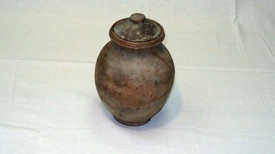 Antique Roman Pottery Wheel Made Vessel 1st- 2nd century A.D. Terracotta ~110 mm