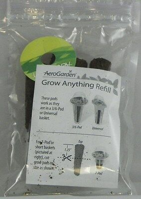 aerogarden grow anything refill pack for 7 pod aerogarden hydroponic sponges GYO