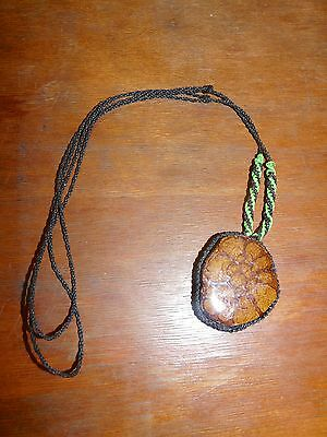 Yagua Peru Amazon Indian Ayahuasca Vine Necklace