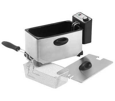 LOGIK L30PFS12 Professional Deep Fryer Dishwasher-safe parts Stainless steel