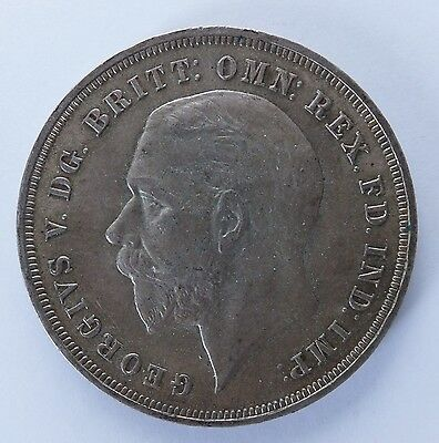 1935 George V Jubilee Silver Crown Coin (5518)