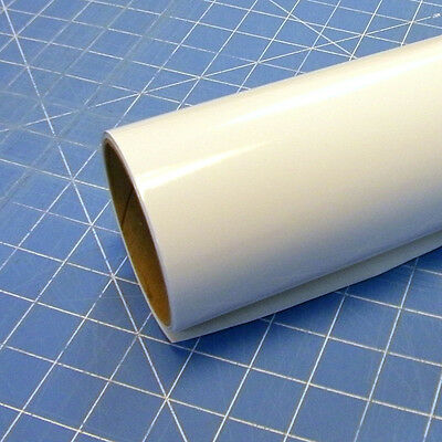 "White Gloss Oracal 651 (1) Roll 12"" X 10' Sign Cutting Vinyl"