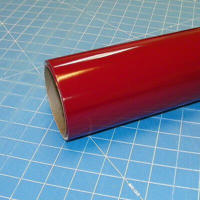 "Burgundy Oracal 651 (1) Roll 12"" X 10' Sign Cutting Vinyl"
