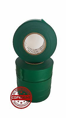 Presco Texas Green Flagging Tape Ribbon For Survey Construction (12Rolls)