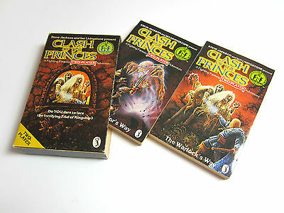 Fighting Fantasy Clash of the Princes 2 Player Boxed Set