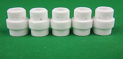 MB24 Diffuser BINZEL Style 5Pcs WHITE Ceramic Gas Diffuser Bobthewelder OZZY SEL