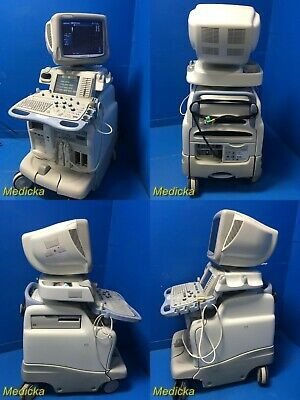 2002 GE LOGIQ 9 Ultrasound W/ 739L Linear, 10S Sector Probes VCR &Printer (7255)