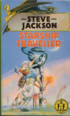 Fighting Fantasy Gamebook 04 Starship Traveller Puffin Books