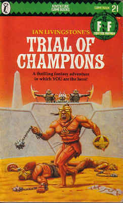 Fighting Fantasy Gamebook 21 Trial of Champions Puffin Books