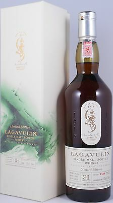 Lagavulin 1991 21 Years Limited Edition 2012 Scotch Whisky 52,0% - one of 2772