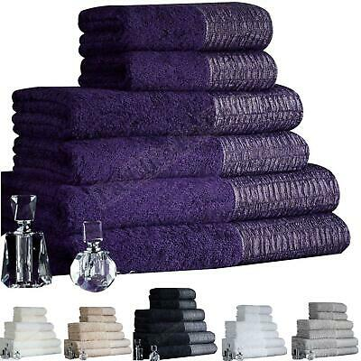 Luxury Towels Set Bale Egyptian Cotton 100% Bath Sheet Hand Large 600 GSM Soft