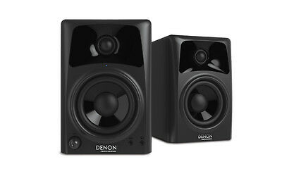 "Denon Professional DN-303S Pair 3"" 2-Way Active Studio Monitor Speakers 10 Watt"