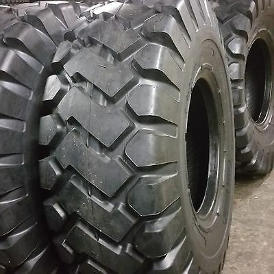 20.5x25 24 PLY  E3E LOADER TIRES, 20.5-25, (1 TIRE) ROAD WARRIOR LOADER TIRES