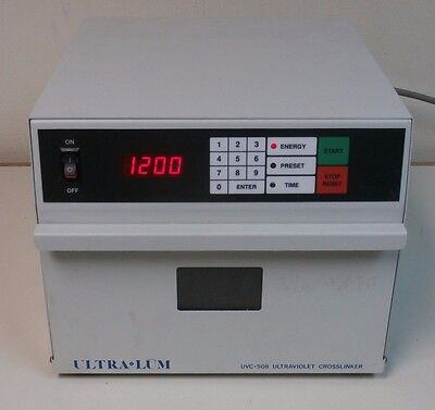 Ultra Lum UVC-508 Ultraviolet UV Crosslinker 115V