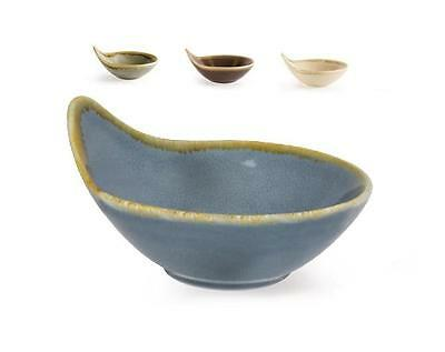12x Kiln Crockery Handle Dipping Condiment Sauce Bowl 70ml - 4 colours available