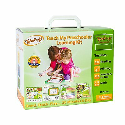 Preschool Learning Toys Activity Kit Set Education Teach Drawing Flashcards Fun