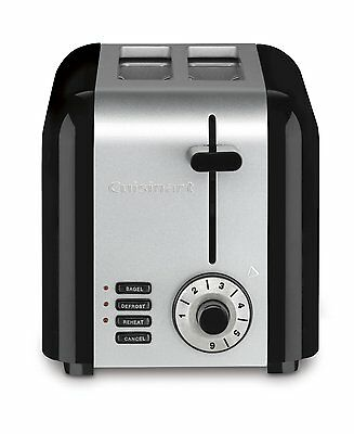 Cuisinart CPT-320 Compact Stainless 2-Slice Toaster, Brushed Stainless BRAND NEW