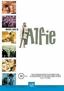 Alfie - 1966 Michael Caine Shelly Winters Comedy New Dvd Movie Sealed