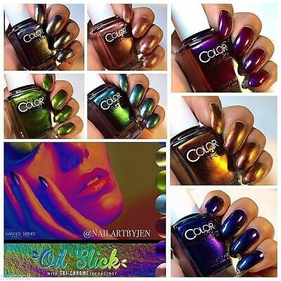 Color Club - Oil Slick Collection - Duo Chrome Limited Edition Batch Nail Polish