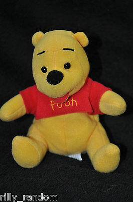 1 Disney Winnie the Pooh 'Pooh' Soft Plush Toy - 5 to 6 inches