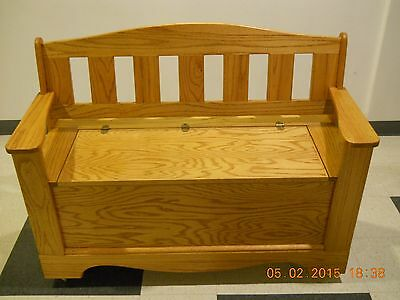 Terrific Hand Crafted Oak Wood Parsons Bench With Storage Cedar Camellatalisay Diy Chair Ideas Camellatalisaycom
