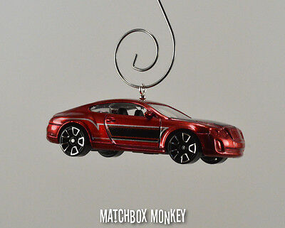 Bentley Continental Supersports Coupe Custom Christmas Ornament 1/64 GT GTC
