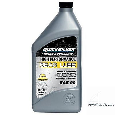 Olio Per Piede Mercury Gear Lube High Performance Quicksilver 1 Lt.