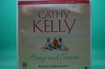 CATHY KELLY ALWAYS AND FOREVER 12 CD AUDIO BOOK Books