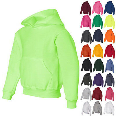 JERZEES Boys Kids Girls Pullover NuBlend Youth Hoodie Sweatshirt 996YR