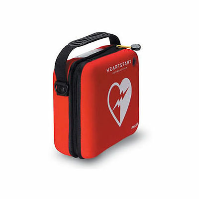 Philips M5075A HeartStart Carry Case in Durable Red Cordura w/ paramedic Scissor