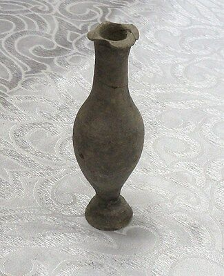 "Antique Roman Pottery Vase Circa 1st- 2nd century A.D. Terracotta 130 mm (5.12"")"
