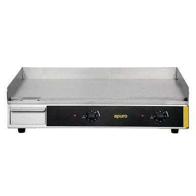 Apuro Extra Wide Countertop Electric Griddle Commercial 241(H)x742(W)x462(D)mm