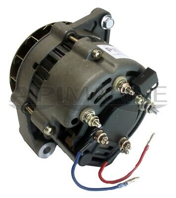Mercruiser Alternator Mando 12V 55 Amp 3 Wire Hook Up 92497A3