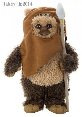 Star Wars Ewok Wicket 1/2 Size 40cm Plush Stuffed Doll Takara Tomy Arts F/S