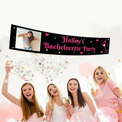 18th 21st 30th Birthday Hanging  Decorations Supplies Party Banner Personalised