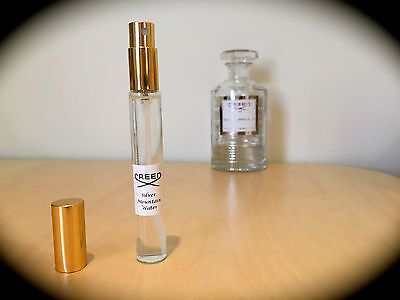 SILVER MOUNTAIN WATER by Creed - 10ml sample - 100% GENUINE
